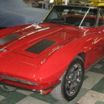 The 1963 Vette before the surgery