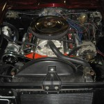 1963 Corvette Roadster new AC compressor and relocated alternator