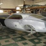 Body panel fitting and body work