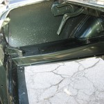 Refinished trunk compartment