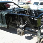 Suspension installed