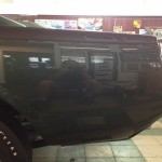 Finished paint surface