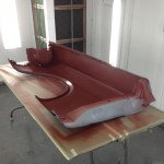 Appling red oxide color