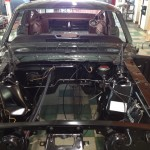 Engine compartment ready for power plant
