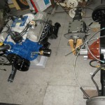 drive train, fresh engine,resealed tranny and rear end