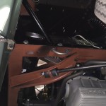 Bottom forward Driver wheel well