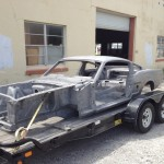 1966 Shelby GT350 bare essentials, were it begins.