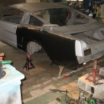 Fitting new quarter sheet metal