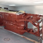 Red oxide on belly