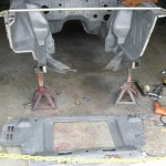 Replacing radiator support