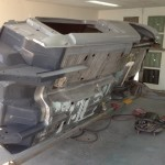 Body work on the belly