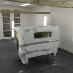 Fill primer on cab