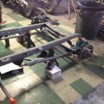Pre-fitting front suspension parts