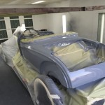 Epoxy primer on body