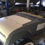 Fitting body panels